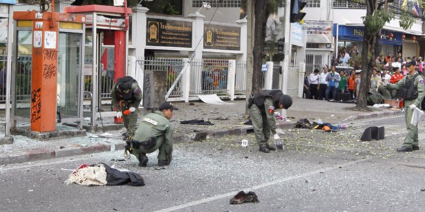 Bombenexplosionen in Bangkok