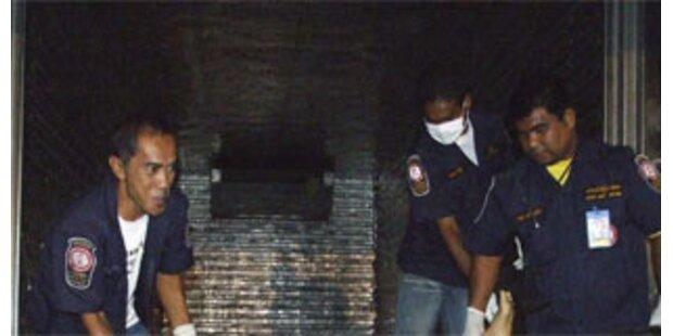 54 Burmesen in Kühlwagen erstickt