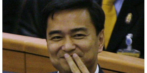 Oppositions-Chef neuer Premier in Thailand