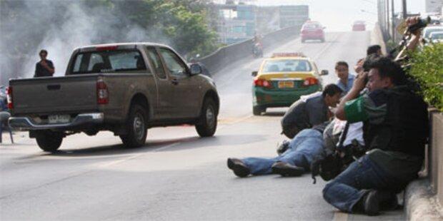 Unruhen - Lage in Thailand eskaliert