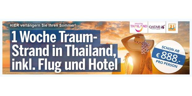 Anzeige Thailand Wetter