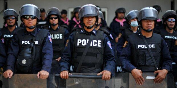 Sicherheitsmann bei Protesten erschossen