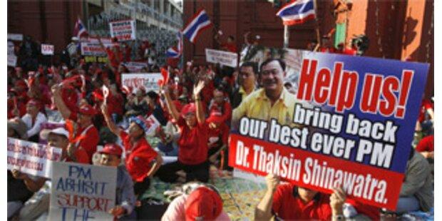 Amtsantritt der Regierung Thailands verzögert sich