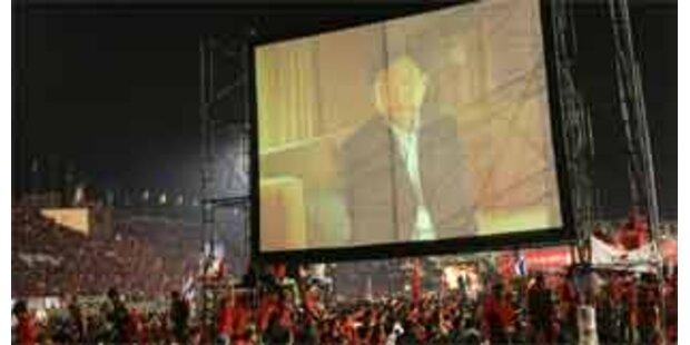 Keine Live-Rede Thaksins in Bangkok