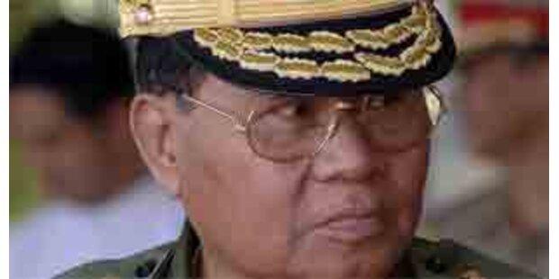 Die Militärjunta in Burma