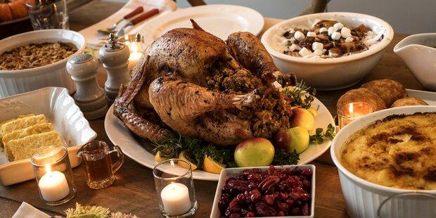 Das sind die irrsten Thanksgiving-Tische