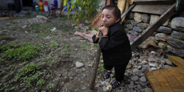 Nepalese ist kleinster Mann der Welt