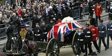 Abschied von Margaret Thatcher