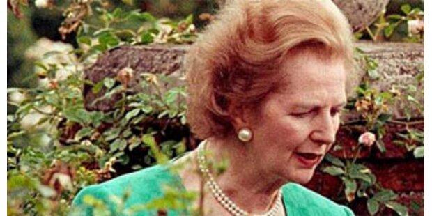 Thatcher auf Toilette eingeschlossen