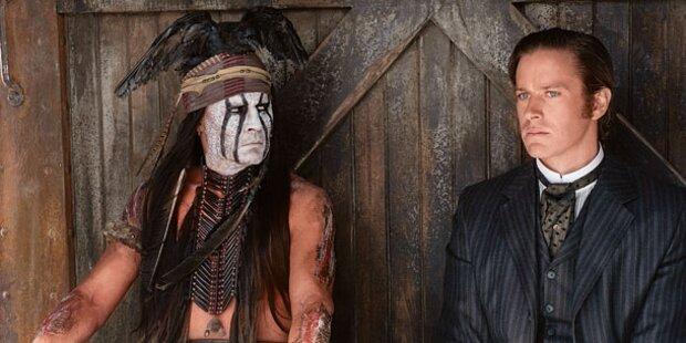 Johnny Depp als schräger Westernheld