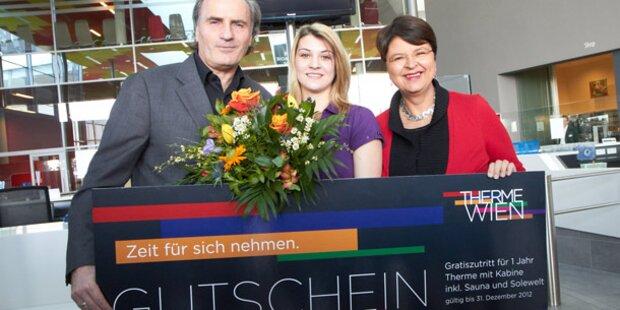 Therme Wien begrüßt millionsten Gast