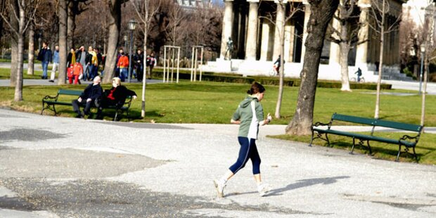 Mini-Frühling: Mittwoch bis zu 11 Grad