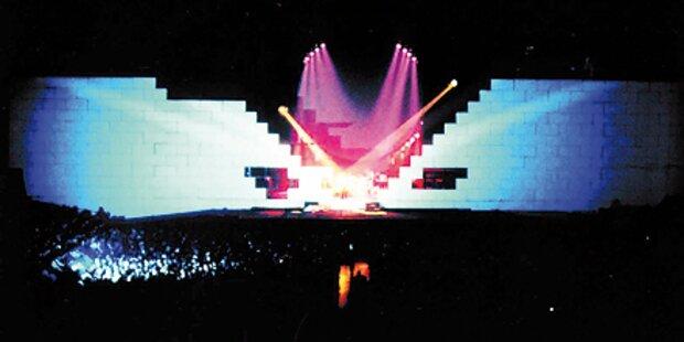 Wall zu groß für Wien: Bangen um Konzert