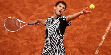 Thiem chancenlos gegen Djokovic