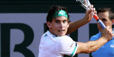 Thiem holt sich den Sieg bei Wimbledon-Auftakt