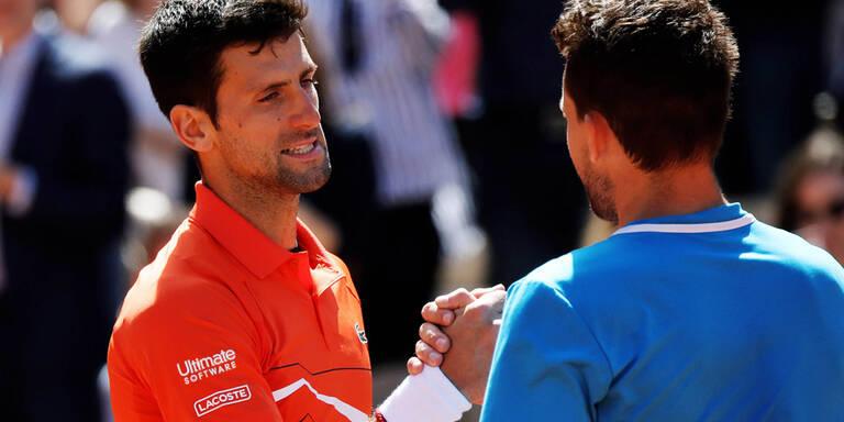 Djokovic hat Thiem auf der Rechnung