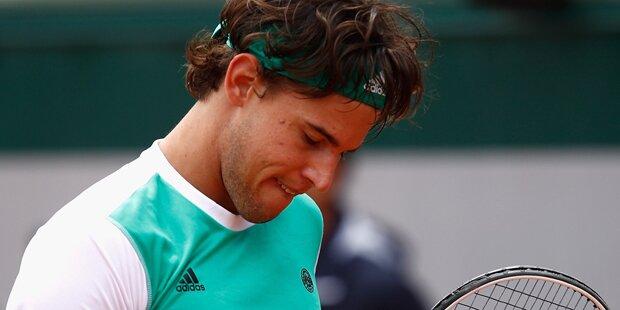 Thiem scheitert an Rafael Nadal