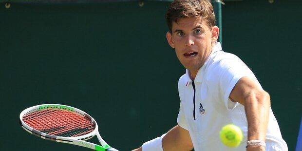 So stehen Thiems Chancen in Wimbledon