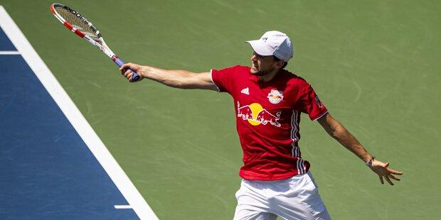 Thiem überrascht mit Red-Bull-Outfit