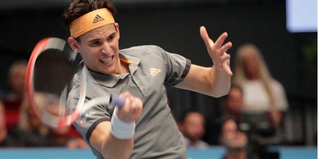 Thiem gewinnt gegen Tsonga in Wien