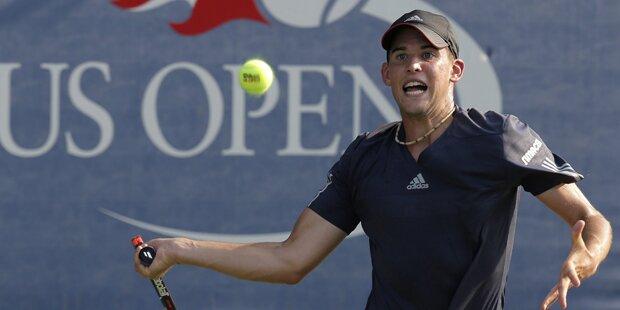 Melzer und Thiem in zweiter US-Open-Runde