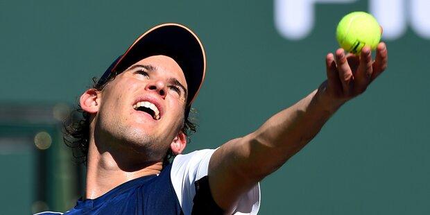 Indian Wells: Thiem stürmt ins Viertelfinale