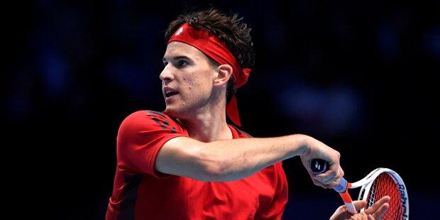 ATP Finals: Thiem verliert zum Auftakt