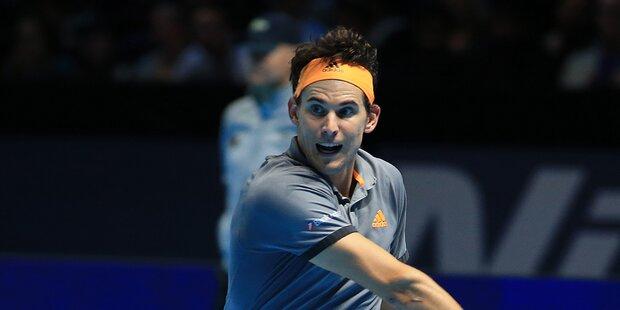 Thiem ringt Federer bei Finals nieder