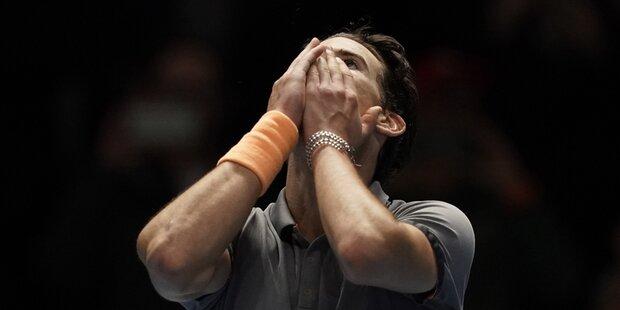 ATP-Finals: Legenden-Triple für Thiem?