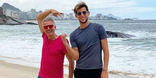 Thiem im Samba-Fieber: Er kennt schon 1. Gegner in Rio