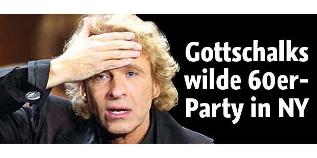 Gottschalks wilde 60er-Party in New York