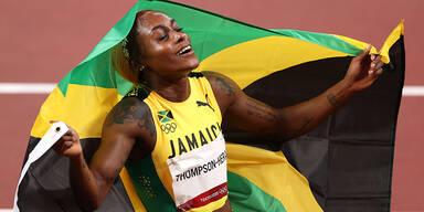 Thompson-Herah gewinnt Gold in 100m-Sprint
