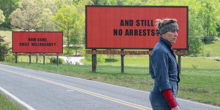 'Three Billboards': Kino-Hit startet