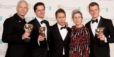 """BAFTAs:""""Three Billboards..."""" räumt ab"""