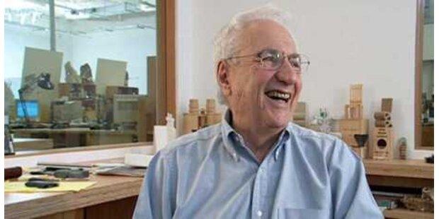 Stararchitekt Frank Gehry wird 80