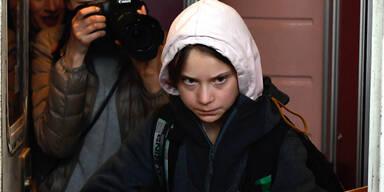 Greta Thunberg auf Mega-Klimaschutz-Demo in Madrid