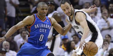 Oklahoma Thunder San Antonio Spurs