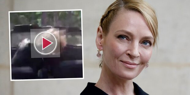 Video zeigt Thurmans Horror-Crash