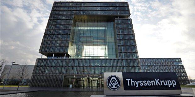 Thyssenkrupp und Tata stellen Weichen für Stahlfusion
