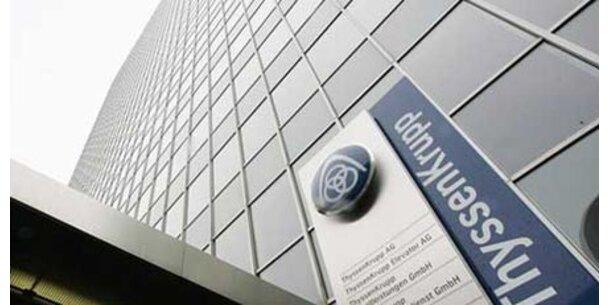 ThyssenKrupp baut 20.000 Stellen ab