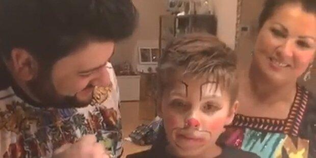 Netrebko-Sohn: So schön war Tiagos Geburtstag