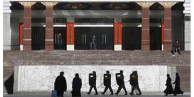 China sperrt Tibet erneut ab