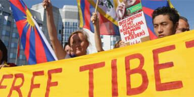 Weltweiter Protest gegen Chinas Tibet-Politik