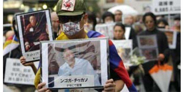 China ließ festgenommene Tibet-Aktivisten frei