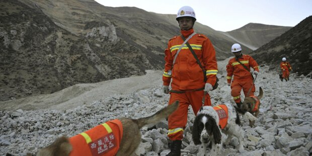 Tibet: Keine Hoffnung auf Überlebende