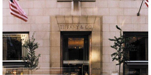 Tiffany mit kräftigem Gewinneinbruch