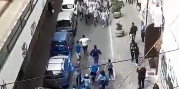 Verfeindete Ultras treffen sich - und dann passiert DAS