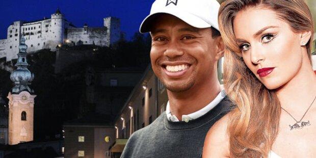 Tiger Woods heimlich mit Lindsey Vonn