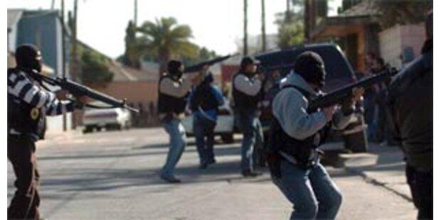 Sechs Tote nach gescheiterter Polizeiaktion in Mexiko
