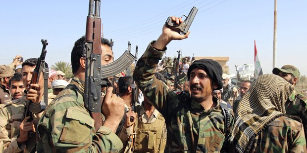 Iraks Armee startet Offensive gegen ISIS